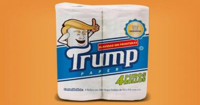 Mexique : Un papier WC à l'effigie du Président Trump